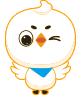 高兴的小鸟